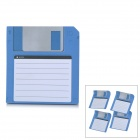 ZhiJiang 3.5&#039;&#039; Floppy Disk Pattern Sticky Notes - Blue + White (50-Pages)