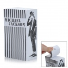 ZhiJiang BXZZ Distorted Michael Jackson Pattern Note Pad Memo Block - Black + White (1280-Pages)