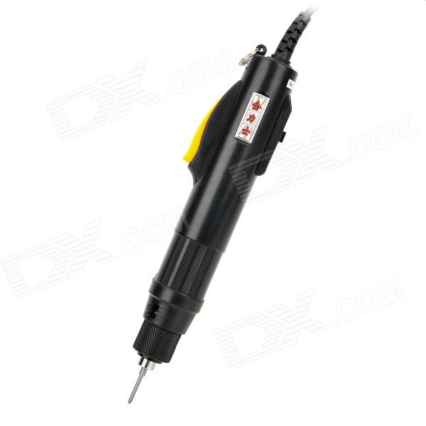 цена на JinLiShi POL-800 Professional Electric Screwdriver w/ 2 Phillips Bits - Black + Yellow