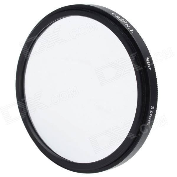 Premium 8x/8-Point Cross Starburst Lens Filter (52mm) premium 6x 6 point cross starburst lens filter 46mm