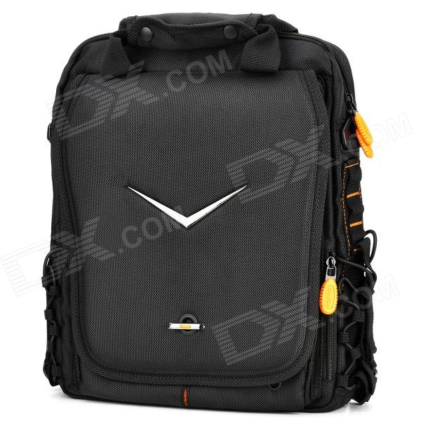 CANYON NB3 Protective Ballistic Nylon Carrying Shoulder Backpack for 15.4'' Notebooks - Black