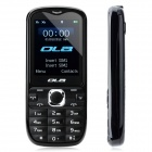 "OLA TV Plus Dual Network Standby Bar Phone w/ 2.0"" TFT / TV / Bluetooth / FM - Black"