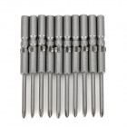 ABC Electric Screwdriver 0# Phillips Bits Set - Grey (5mm / 2.5mm)