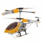 SH-6020 Rechargeable 3-CH IR Remote Control R/C Helicopter - Yellow