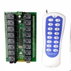 CDKZ-16L 16-Channel Wireless Remote Control Switch System for Industrial Equipment / Lamp (DC 12V)