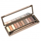 12-Color Makeup Eye Shadow Palette Set w/ Mirror