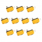 20454 Lema Electrics Microswitch Short Lever Roller - Black + Yellow (10 PCS)