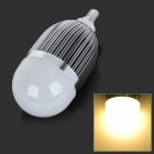 E14 9W 900lm 4500k 9-LED Warm White Light Bulb - Silver (85~265V)
