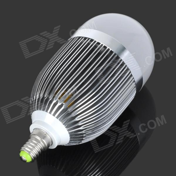 buy e14 9w 900lm 4500k 9 led warm white light bulb silver 85 265v. Black Bedroom Furniture Sets. Home Design Ideas