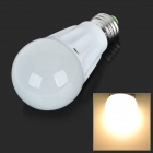 JOYDA JOY-QPM-07 E27 7W 580lm 3000k 9-LED Warm White Light Lamp Bulb - White (90~260V)
