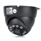 LT1065 Surveillance Security Camera w/ 10-LED IR Night Vision - Black (3.6mm / DC 12V)