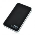 "SSK Blackhawk T300 USB 3.0 HDD Hard Disk Drive Enclosure External Case for 2.5"" SATA HDD - Black"