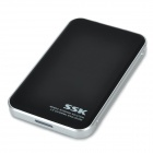 "SSK USB 3.0 HDD Hard Disk Drive Enclosure External Case for 2.5"" SATA HDD - Black"