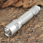 New-G3 Cree XM-L T6 1000lm 2-Mode White Flashlight - Silver (1 x 18650)