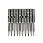 ABC Electric Screwdriver Hex Bits Set - Grey (4mm-Shank / T5)