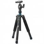 Beike BK-555 Professional Retractable 3-Section Tripod - Black