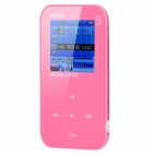 "ONN Q2 Ultra-Slim Sporting 1.5"" Screen MP4 Player w/ FM - Pink (4GB)"