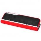 Aoni D508 Portable 2-Channel Media Player Speaker w/ SD / FM - Red + Black