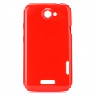 Protective Plastic Back Case for HTC One X - Red