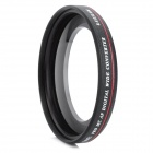 ZOMEI 58mm 0.45X Super Thin lente gran angular para Canon 18 ~ 55mm - Negro