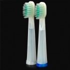 RST2098 Replacement Soft Bristles Electric Toothbrush Head - White (2 PCS)