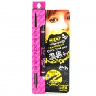 Dual Purpose Waterproof Makeup Eyeliner Pen - Black