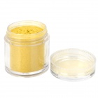 BK-07 DIY Decoration Nail Powder for Nail Polish - Yellow