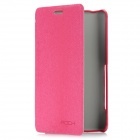 ROCK Protective PU Leather Case for Sony Xperia T LT30p - Deep Pink