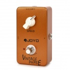 Joyo JF-06 True Bypass Vintage Phase Guitar Effect Pedal - Orange