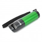 Portable 9-LED 1-Mode White Flashlight w/ Bottle Opener - Black + Green (3 x AAA)