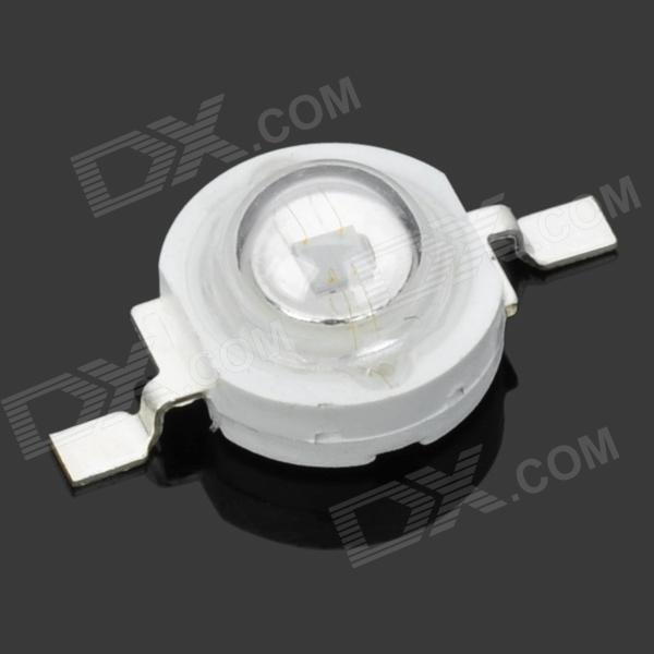 JR-3W-410NM 3W 410nm UV Light LED Module - Silver + White