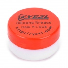 YEZL SG6 Silicone Grease for Flashlight Maintenance - Red + White (9g)