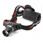 PrairieFire 905 Cree XR-E Q5 200lm 3-Mode White Zooming Headlamp - Black (1 x 18650)