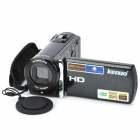 "KENUO 601S 3.0"" TFT LCD 1080p 5.0MP DVR Digital Video Recorder Camcorder w/ Mini HDMI / SD - Black"