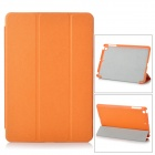 Protective PU Leather Smart Case for Ipad MINI - Orange