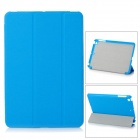Protective PU Leather Smart Case for Ipad MINI - Blue