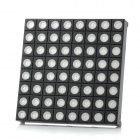 8 x 8 RGB LED Display Common Anode Dot Matrix Module - Black + White