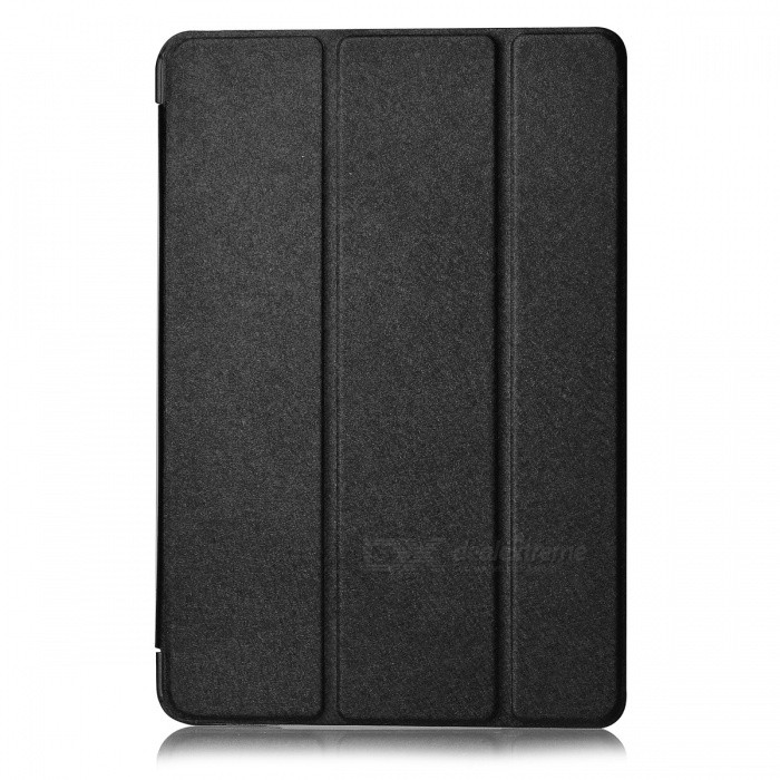 Suojaava PU-nahka Smart Case for Ipad MINI - musta
