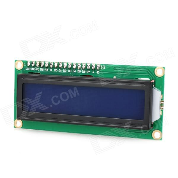 Funduino IIC / I2C 1602 LCD Adapter Board w/ 2.5 LCD Screen - Black + Green + Red favourite 1602 1f