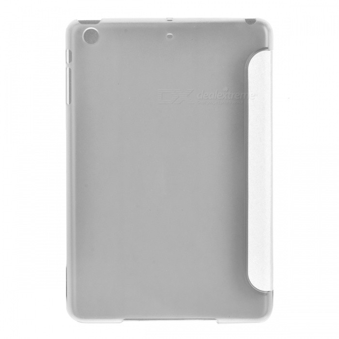 Smart Case PU de protection en cuir pour Ipad MINI - Blanc