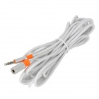 PowerSync 35-ERMF39 3.5mm Male to Female Stereo Extension Cable - White (300cm)