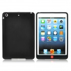Protective Silicone Back Case Cover for iPad Mini - Black