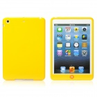Protective Silicone Back Case Cover for iPad Mini - Yellow