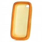 Emulational Bread Style Protective Sponge Soft Back Case for Iphone 5 - Brown Yellow