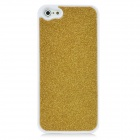 Protective Paillette Plastic Case for Iphone 5 - Golden