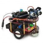 DIY Intelligent Tortoise Smart Wheel Robot Module - Black