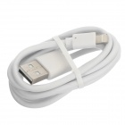 USB 2.0 to Lightning 8-Pin Male Data / Charging Cable for iPhone 5 / iPod Touch 5 / Nano 7 - White
