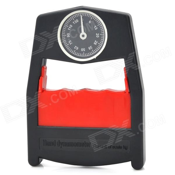 002 Hand Power Strength Measurement Grip Dynamometer - Black (0~130kg)