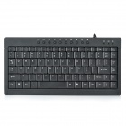Z-006 Multimedia Wired 87-Key Keyboard - Black
