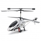 WMY209 Rechargeable 3.5-CH R/C Helicopter w/ Gyroscope - Silver + Grey